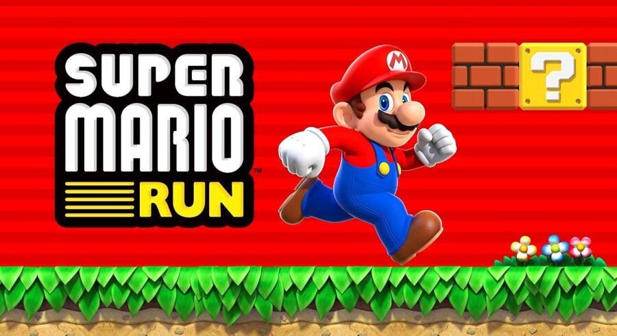 Nintendo har lukket sin ikoniske blikkenslager, Super Mario, ud i Apple-verdenen. Android følger senere. Arkivfoto: Scanpix