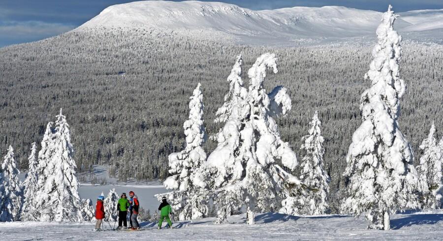Denne weekend åbner Idre Fjäll op for alpinski.