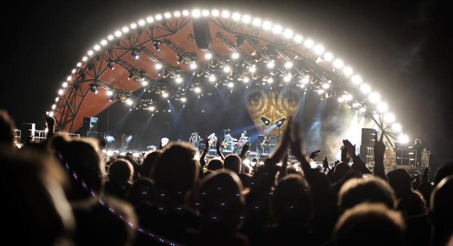 Tenacious D på Orange Scene på Roskilde Festival torsdag den 30. juni 2016.. (Foto: Mathias Løvgreen Bojesen/Scanpix 2016)