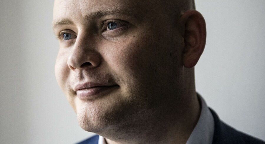 Venstres Jakob Engel-Schmidt kritiserer det store tab på iværksættere, skriver Børsen. Scanpix/Thomas Lekfeldt/arkiv