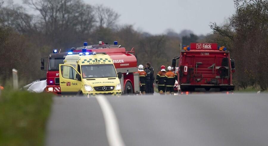 Arkivfoto.En meget alvorligt færdselsulykke på Mors kostede lørdag aften to mennesker livet.
