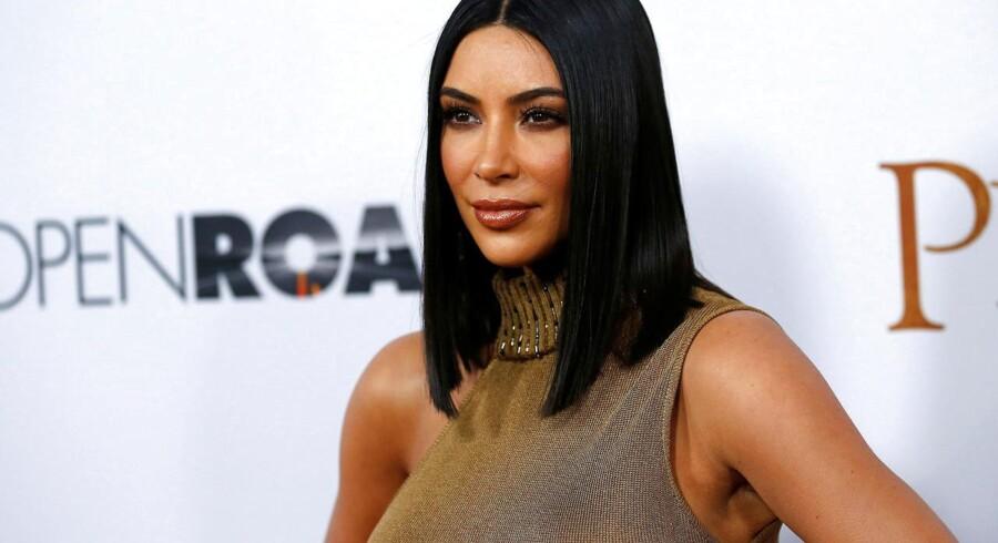 Kim Kardashian West - ku godt tænke sig lidt mere respekt for sin karriere.