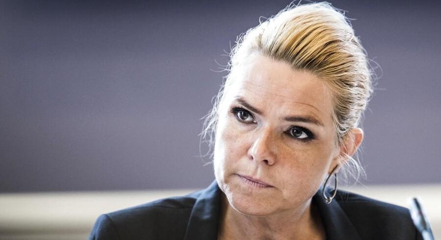 Arkivfoto. Vi skal have en realistisk form for grænsekontrol, siger Inger Støjberg (V) inden møde om migration og terror.