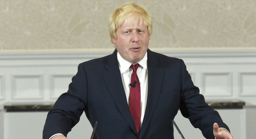 Tidligere London-borgmester og fortaler for at hive Storbritannien ud af EU, Boris Johnson, stiller ikke op til at overtage posten som landets premierminister. Det har han netop fortalt på et pressemøde.