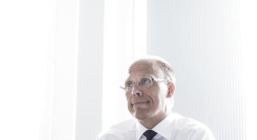 Frank Vang-Jensen, der er øverste chef for Nordea i Danmark, forklarer, at bankens digitale investeringsløsning til privatkunder forventes at komme til næste år.