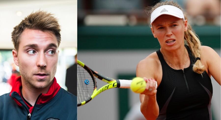 Caroline Wozniacki og Christian Eriksen ser umiddelbart ud til at skulle til lommerne for at understøtte deres fælles investering inden for energidrikke.