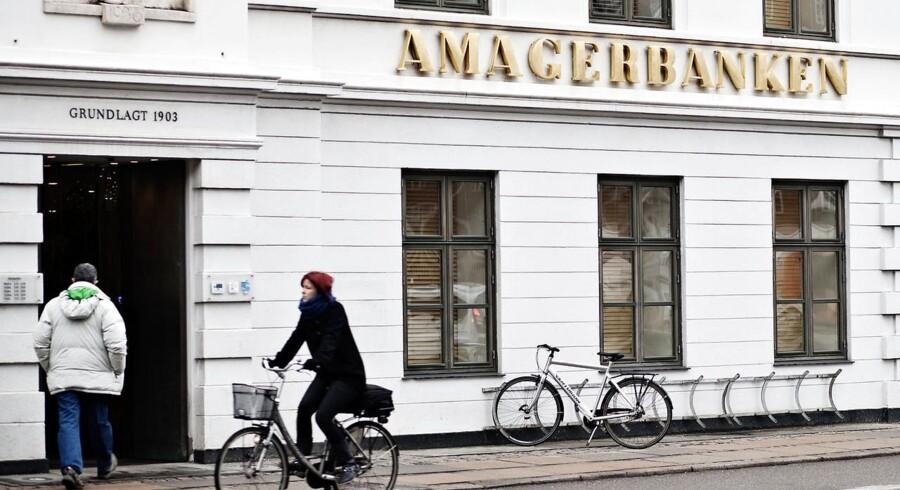 Retten i Lyngby afsagde mandag dom i sagen om tab på i alt 900 millioner kroner i Amagerbanken. Arkivfoto: Scanpix