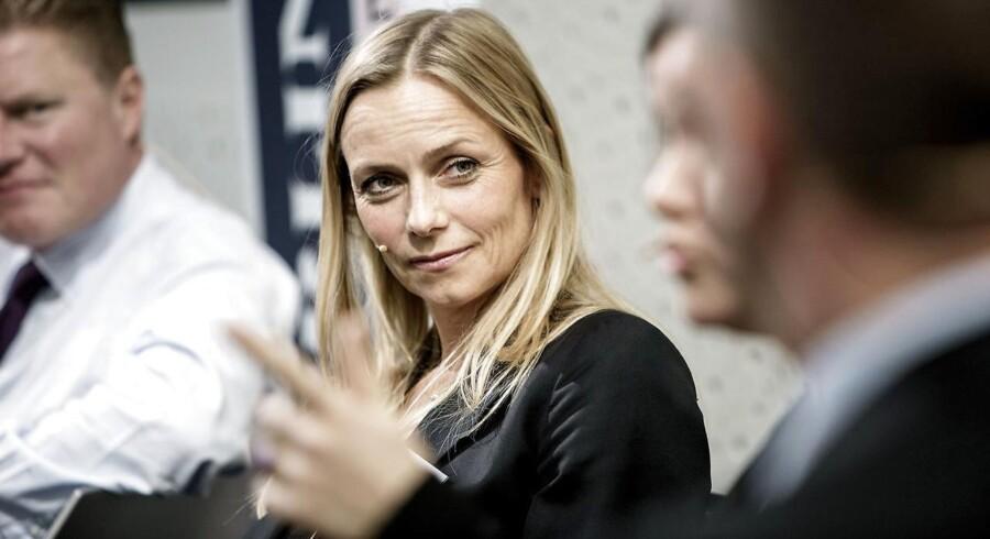 Malou Aamund ved en Berlingske Nyhedsmagsin Talent100-konference