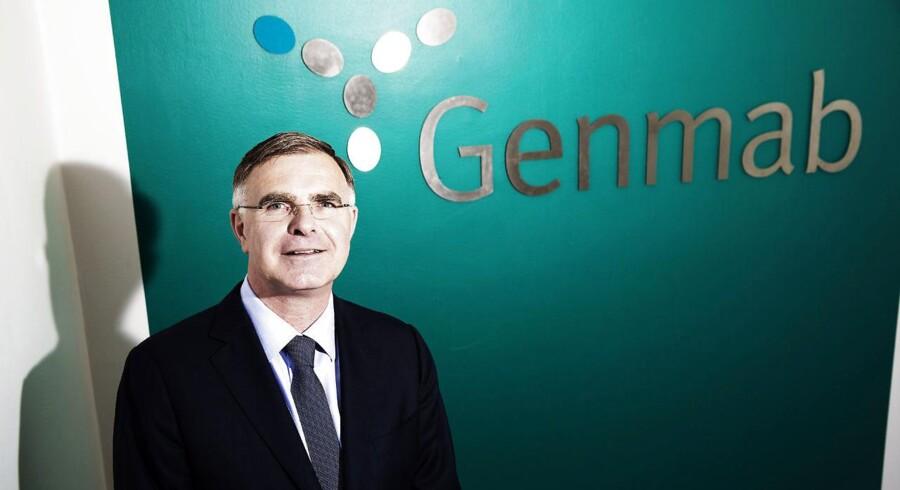 Arkivfoto. Genmabs topchef Jan van de Winkel