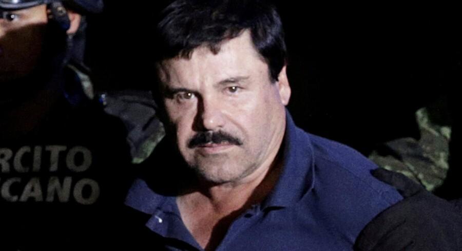 Det tidligere overhoved for Sinaloa-kartellet, El Chapo får nu et lidt nemmere liv i sin celle. Reuters/Henry Romero