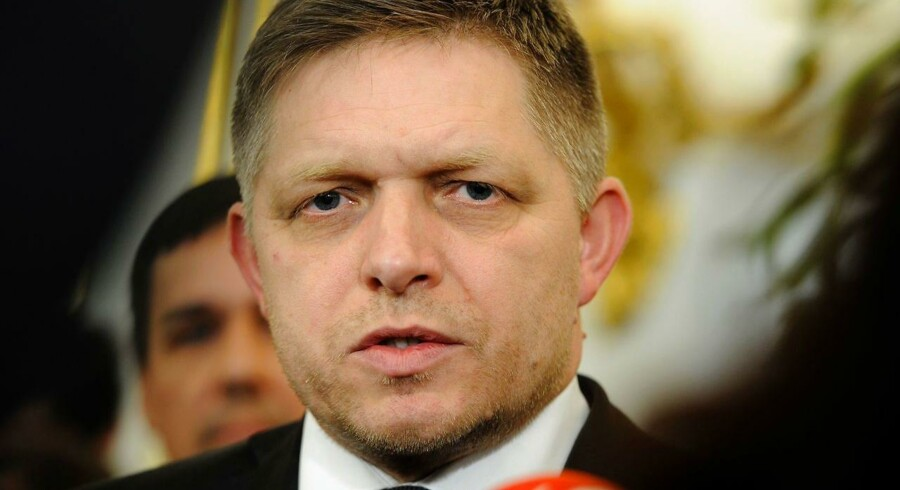 Slovakiets premierminister, Robert Fico.