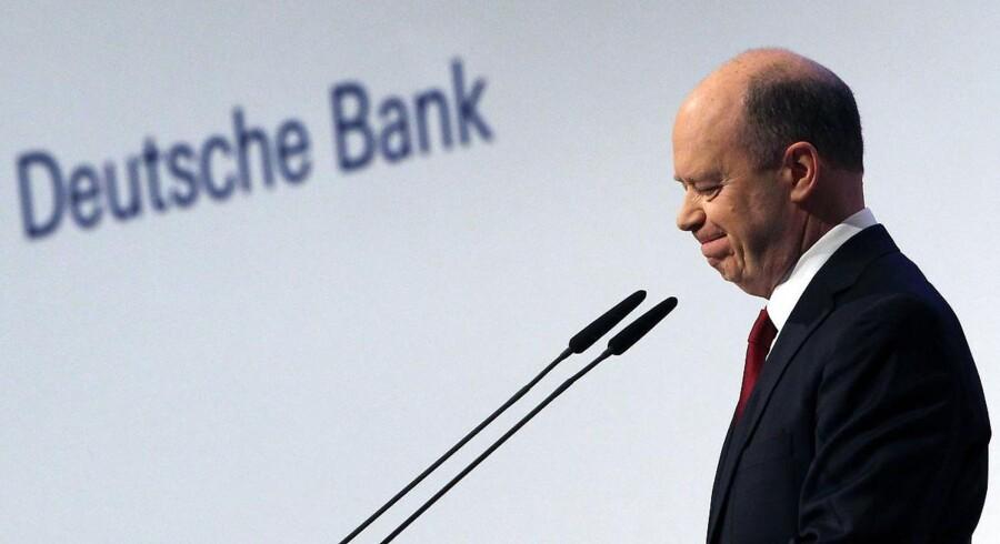 Administrerende direktør i Deutsche Bank, John Cryan.