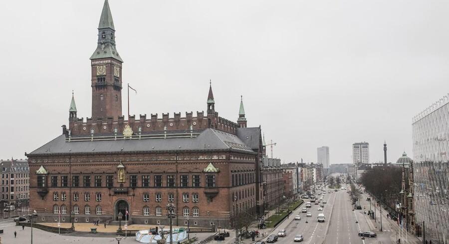 Rådhuspladsen i København
