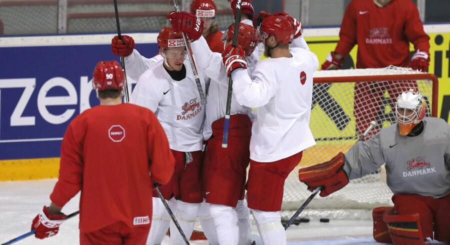 Der er allerede nu stor interesse for VM i ishockey i Danmark næste år. Scanpix/DIU