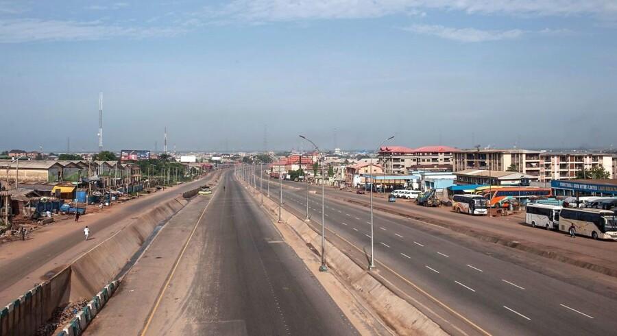 Arkivfoto. Bevæbnet gruppe angreb lørdag en gruppe lastbiler med nødhjælp fra FN i uroplaget del af Nigeria.