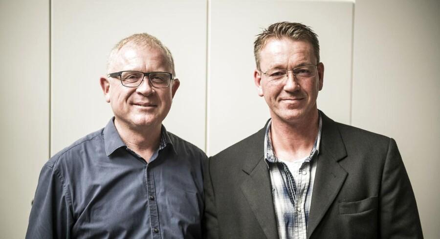 Kjeld Guldmann (tv.) og Martin Rahn har sammen med Tina Bundgaard etableret virksomheden Lematik Nordic for godt to måneder siden.