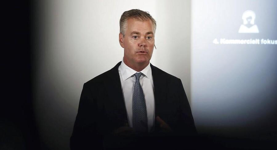 Det var administrerende direktør Bo Nilsson, der førte Nets på børsen for et år siden. Nu står selskabet til at blive solgt til en amerikansk kapitalfond.