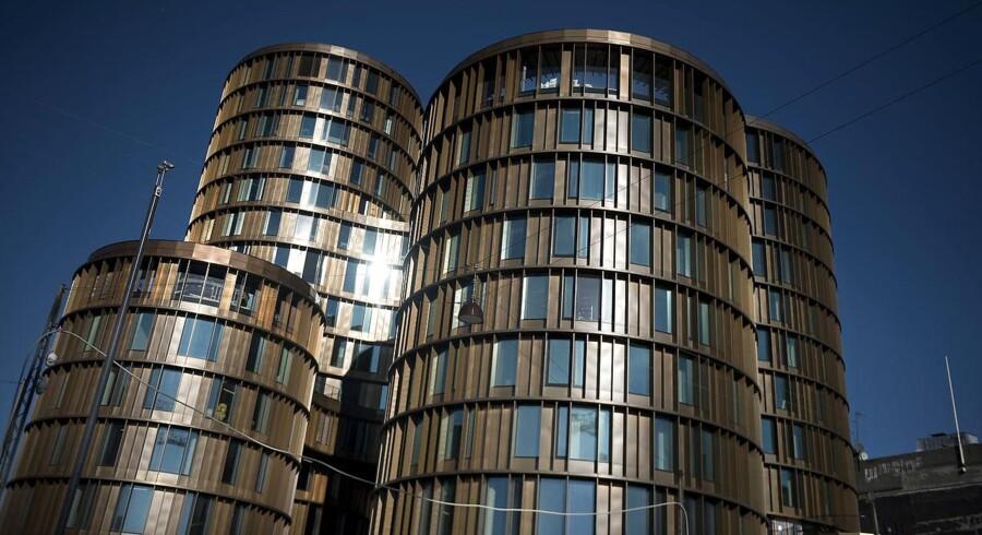 »Advokat-siloen« Axel Towers i København.