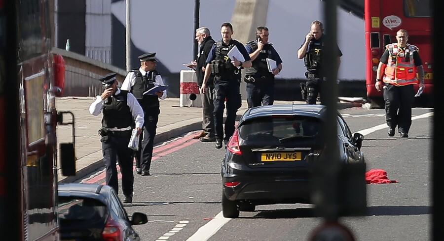 Storbritannien er ramt af nyt angreb. Denne gang i London. Scanpix/Daniel Leal-olivas