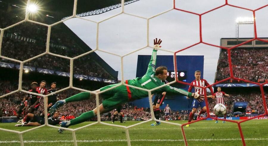 Saul Niguez scorede kampens første og eneste mål