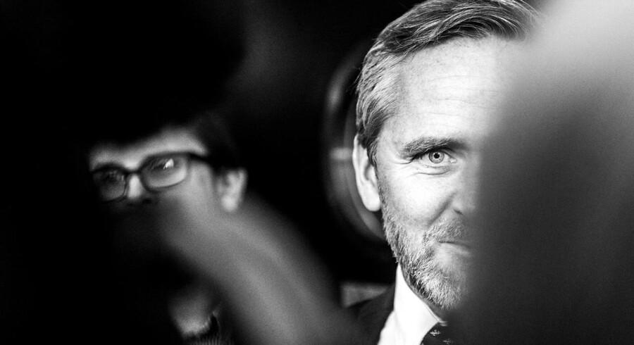 Finanslovsforhandlinger i Finansministeriet d. 18. november 2016. Liberal Alliances Anders Samuelsen