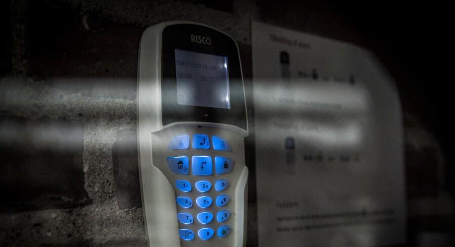 Flere familier fortæller nu om, hvordan deres Verisure-alarmer ikke har fungeret under indbrud. Foto: Anne Bæk