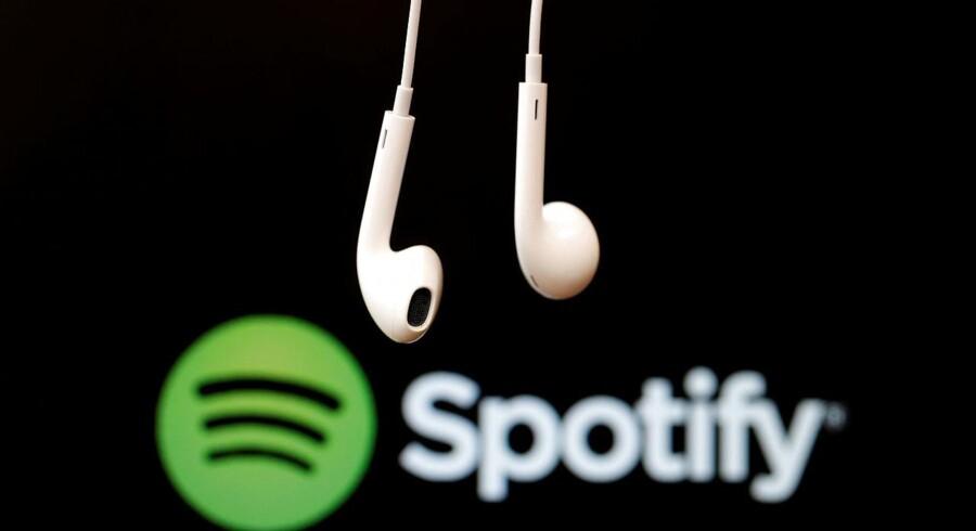 Arkivfoto. Spotify har opgivet sine planer om at erhverve rivalen Soundcloud, mens selskabet er ved at gøre klar til en børsintroduktion til næste år.