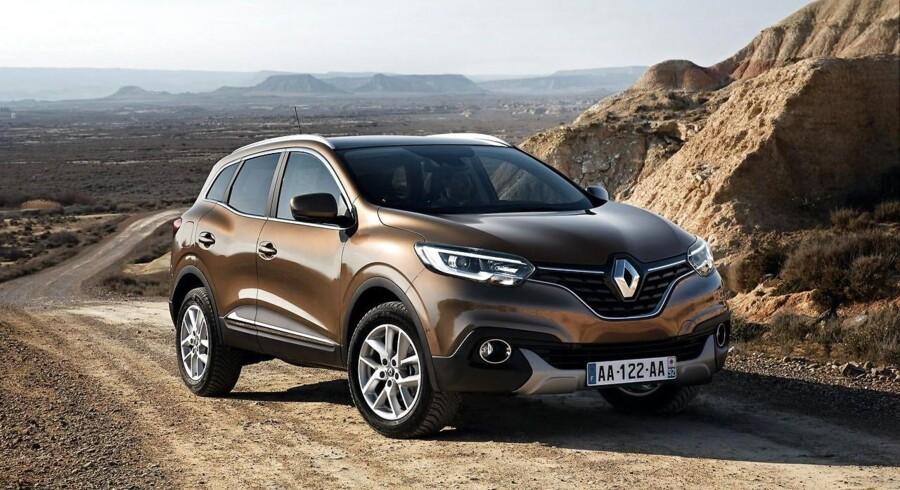 Renault tager 20.000 kr. af prisen, og Kadjar kan nu fås fra 227.900 kr.