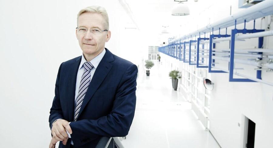 Lars Rasmussen,topchef for den medicotekniske virksomhed Coloplast.