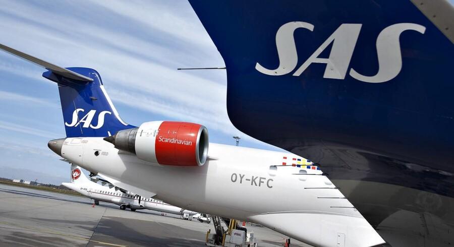 Arkivfoto. SAS kan være klar med nye langdistanceruter til henholdsvis Iran, Indien og den amerikanske østkyst.