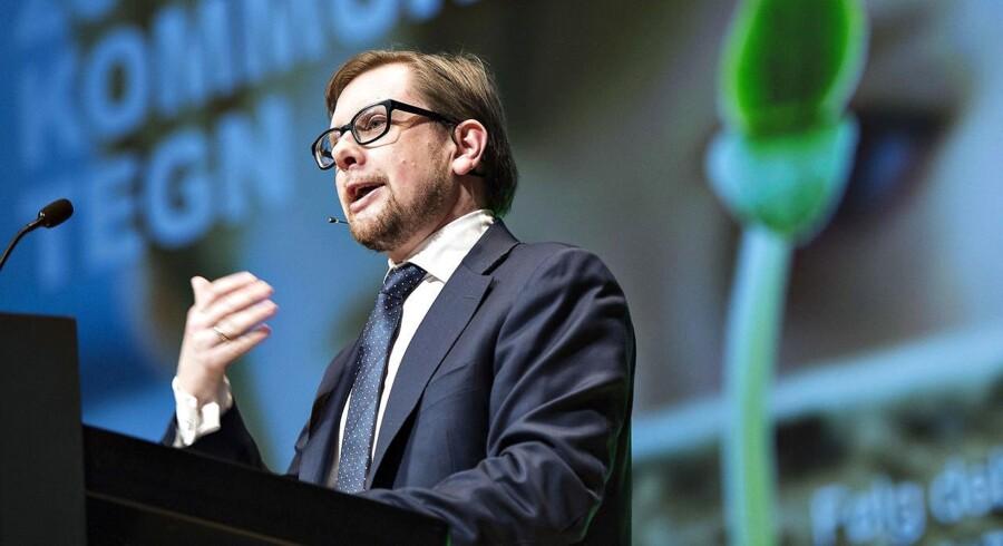 Arkvifoto: Økonomi- og indenrigsminister Simon Emil Ammitzbøll.