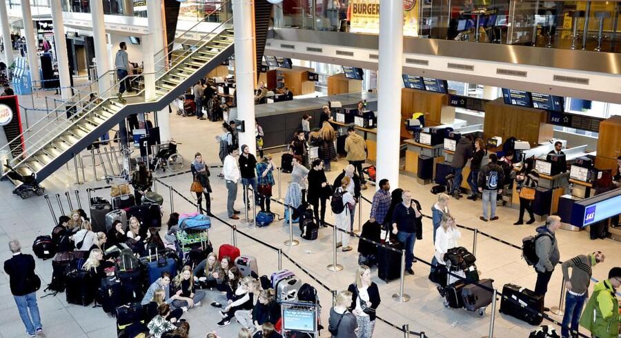 Omkring 14 millioner rejsende fløj gennem Københavns Lufthavn i Kastrup. Det udgør en lille stigning på et par procent sammenlignet med sidste år.