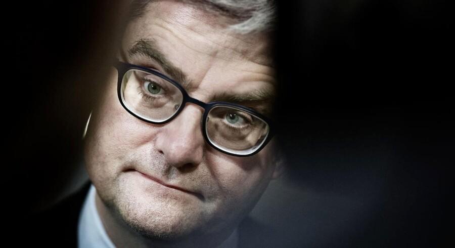 Arkivbillede af justitsminister Søren Pind (V).