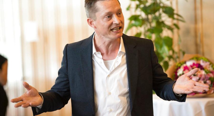 Departemetnschef i det tidligere økonomi- og indenrigsministeriet, Sophus Garfiel. (Foto: ERIK REFNER/Scanpix 2015)
