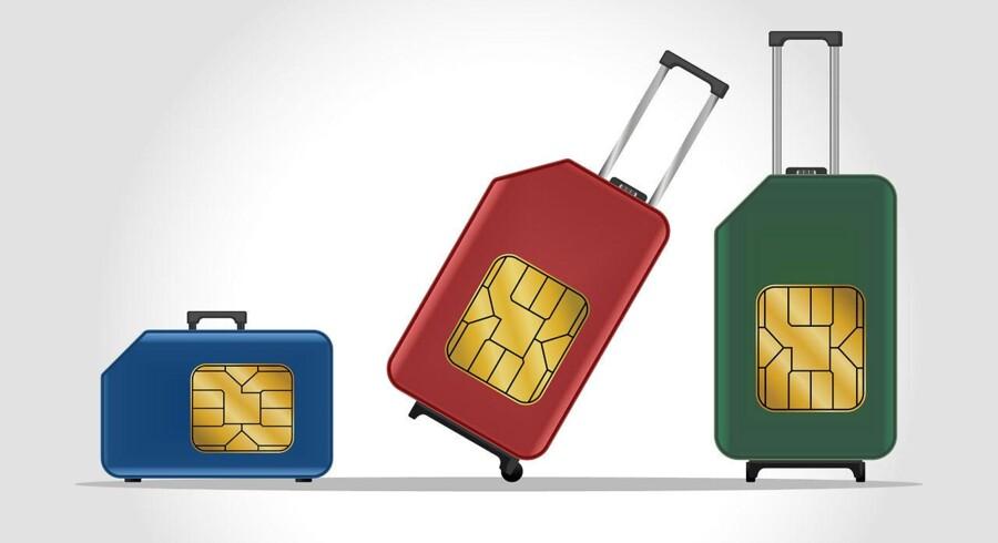 Det kan meget vel være, at det er nu, at mobilabonnementet - eller mobilselskabet - skal skiftes ud. Når teleselskaberne ændrer ens abonnement som følge af EUs forbud mod roamingpriser, kan man nemlig skifte på ganske kort tid. Arkivfoto: Shutterstock/Scanpix
