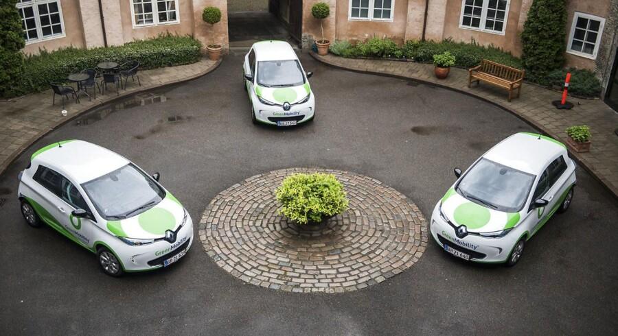 Pressemøde på Den Franske Ambassade i anledning af, at danske GreenMobility og Renault til september sender 450 eldrevne delebiler ud i hovedstadens gader.. maj 2016.