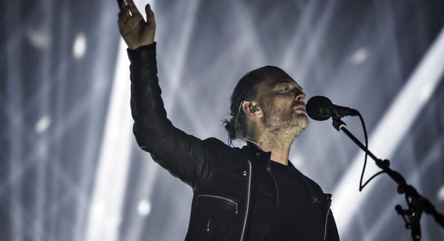 Radiohead koncert søndag den 11. juni på Northside 2017. Forsanger Thom Yorke.