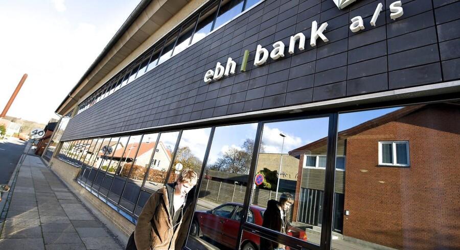 Arkivfoto: Det statslige selskab Finansiel Stabilitet fortsætter mandag det omfattende retsopgør mod chefer og revisorer fra ebh bank og Eik Bank.