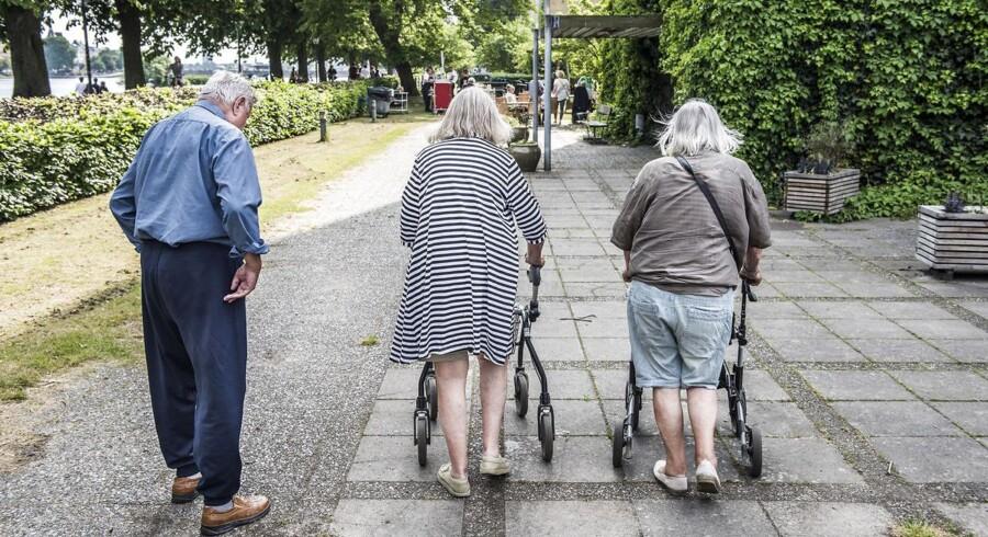 Arkivfoto: Et forsøg med vasketørre-toiletter i Københavns Kommune viser, at teknologien ikke er løsningen for alle ældre borgere.