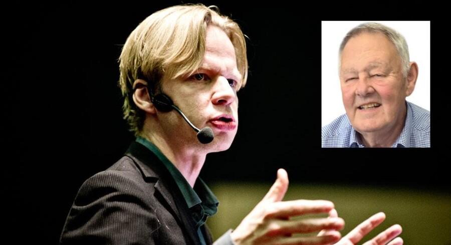 Clement Kjersgaard kritiseres af Uffe Clausen, tidligere vicepolitikommissær og tidligere byrådsmedlem i Aarhus. Medlem af Nye Borgerlige.