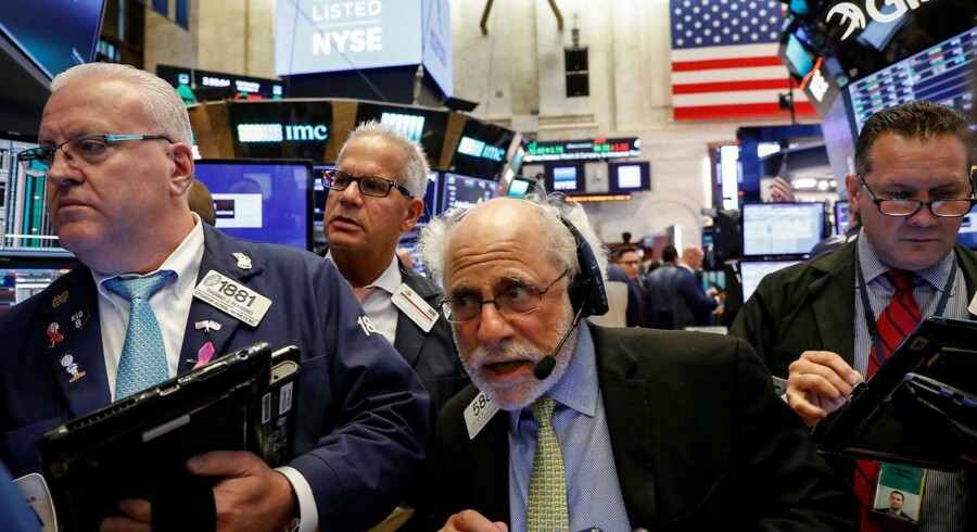 Aktier: Wal-Mart trak Dow Jones i rekordniveau. REUTERS/Brendan McDermid