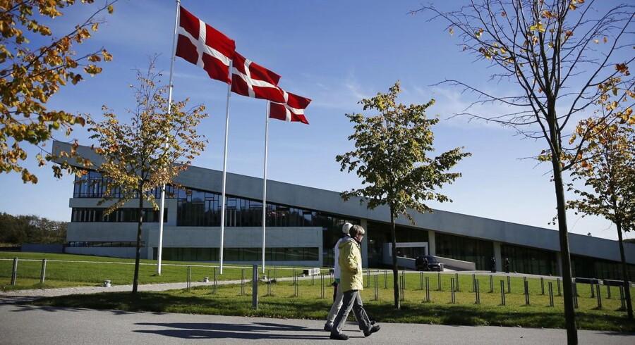Moesgaard Museum ved Aarhus.