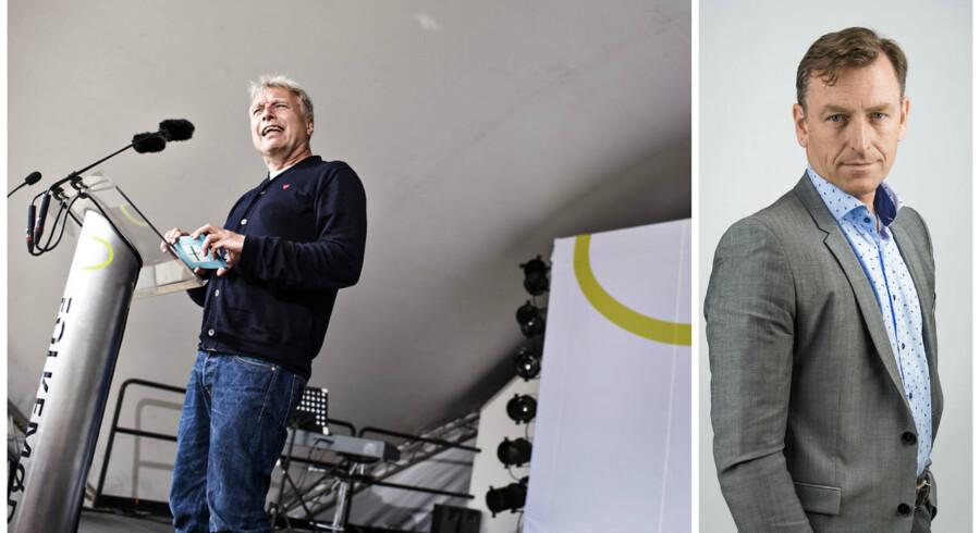 Uffe Elbæks tale på Folkemødet lander på en samlet vurdering på tre stjerner, skriver Jens Grund.