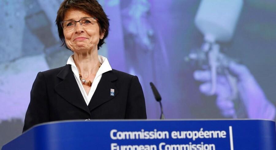 EU-Kommissionens arbejdsmarkedskommissær, Marianne Thyssen.