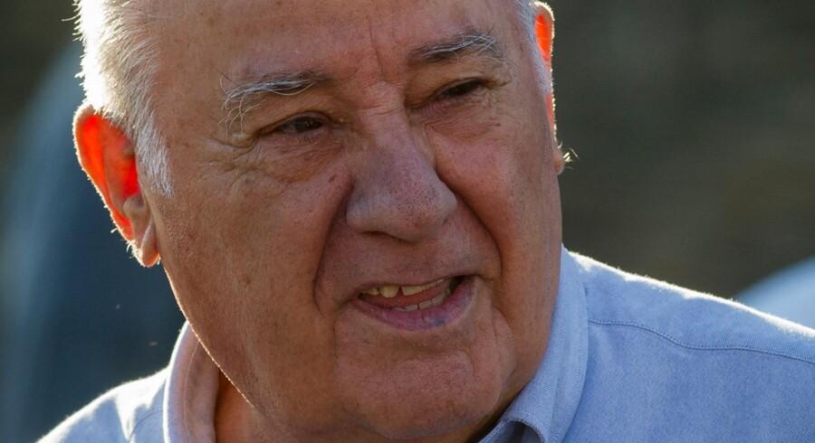 Amancio Ortegas livsværk, Inditex, klarede sig pænt i første halvår.