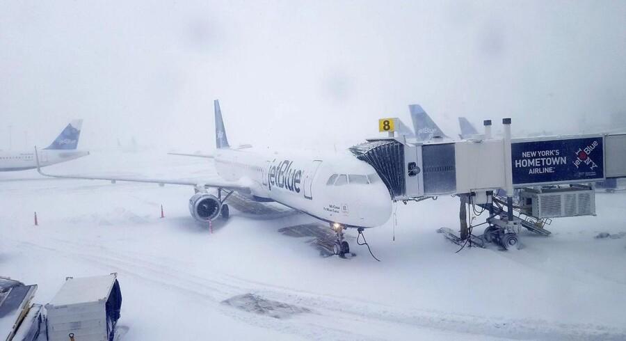 John F. Kennedy International Airport 4. januar Rebecca Butala How/Getty Images/AFP
