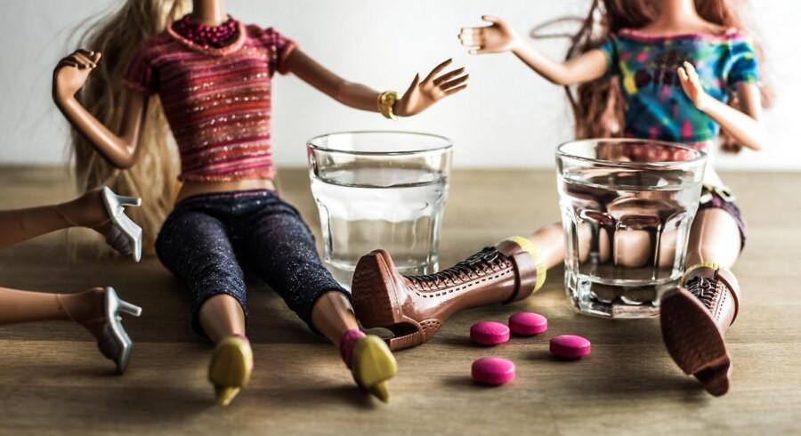 Ifølge Syd- og Sønderjyllands Politi er to piger på 15 og 16 år idag indlagt til intensiv behandling på Sydvestjysk Sygehus i Esbjerg. Pigerne har formentlig indtaget stoffet MDMA. Foto: Iris
