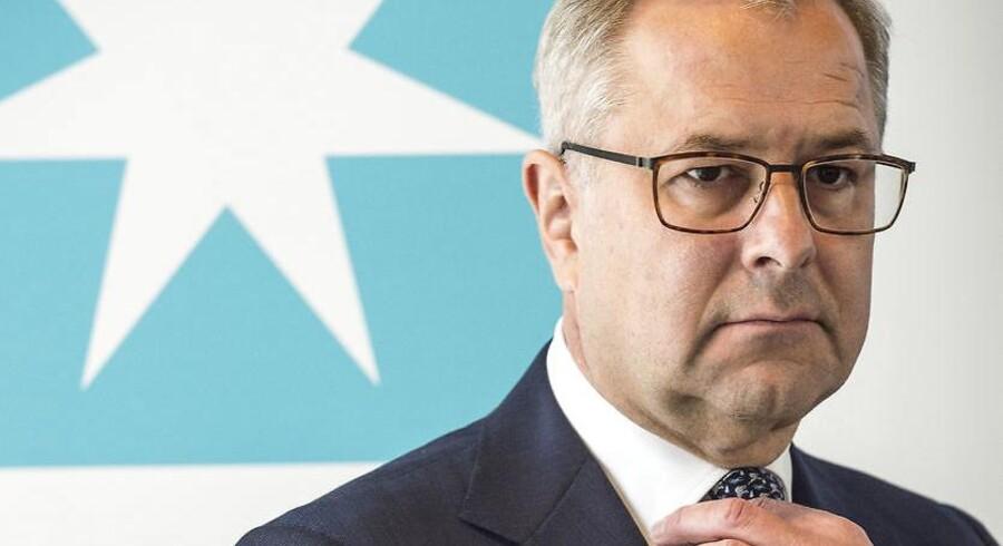 A. P. Møller - Mærsks topchef, Søren Skou.