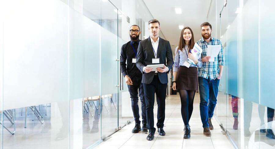 Kultur og arbejdsklima er afgørende, når danske akademikere skal vælge job. Foto: Iris
