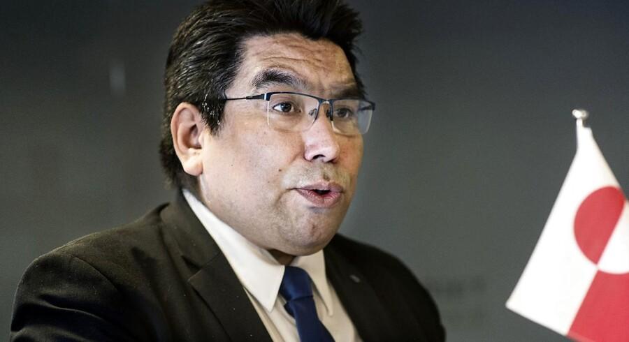 Vittus Qujaukitsoq, grøndlandsk politiker, vil forlade det socialdemokratiske regeringsparti for at starte sit eget parti.